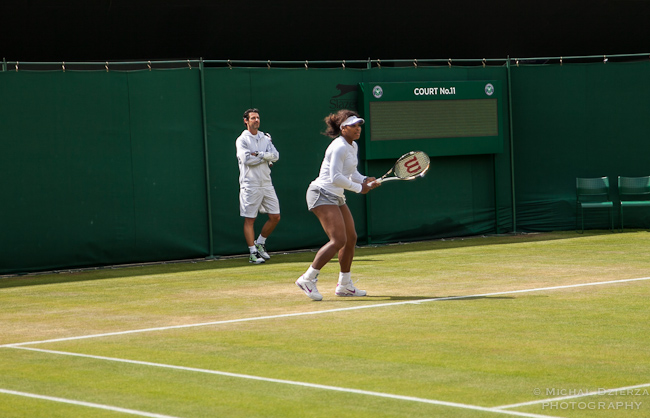 serena williams at wimbledon