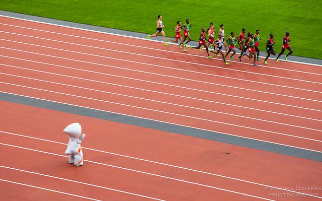 Mo Farah - 5000m men's final at the Olympic Stadium, London