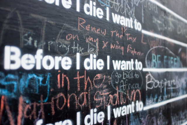 Before I die2