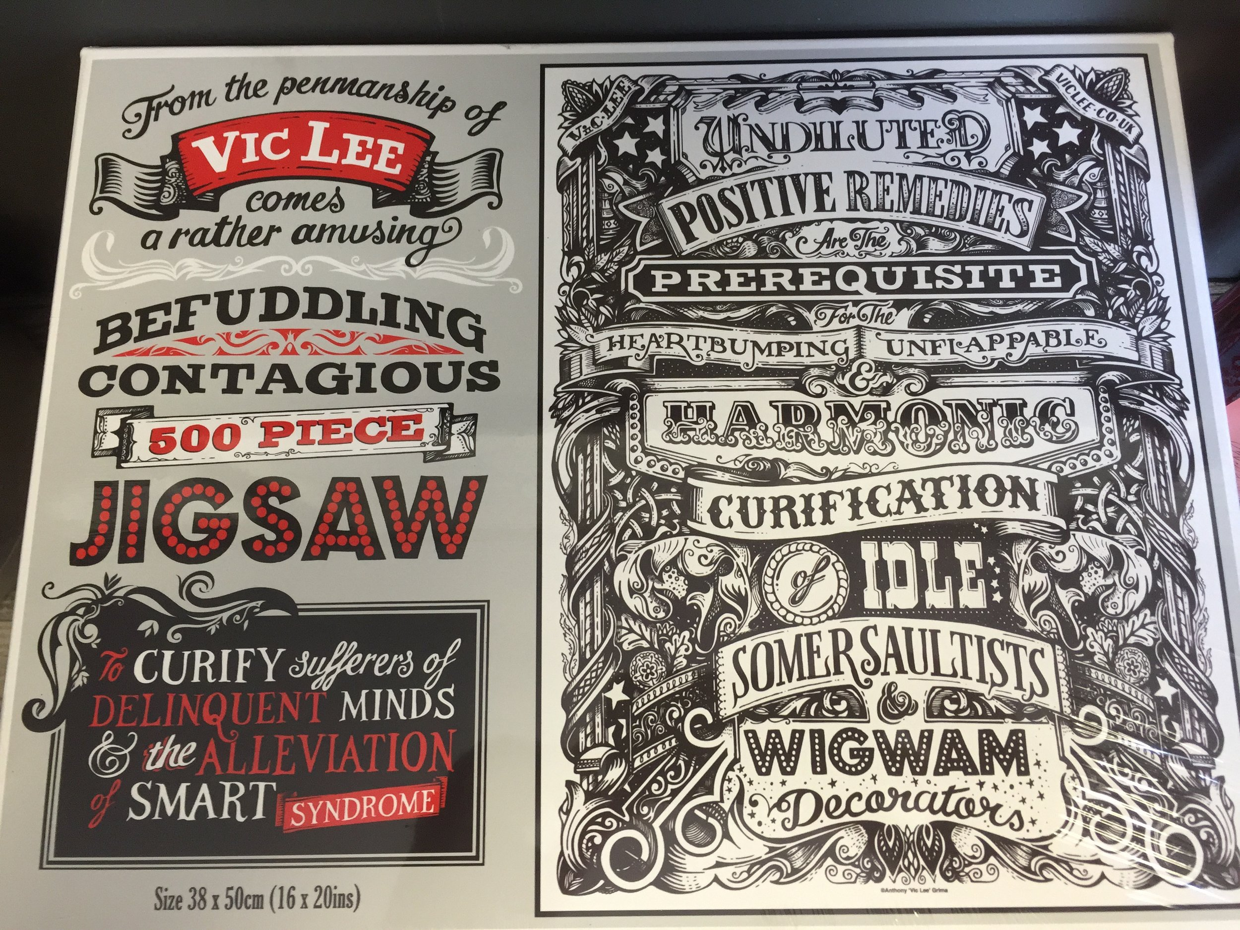 Vic Lee jigsaw