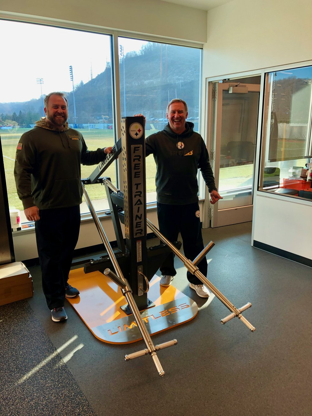 """This is a great piece of equipment.""  Garret Giemont - Strength & Conditioning Coordinator for the Pittsburgh Steelers"
