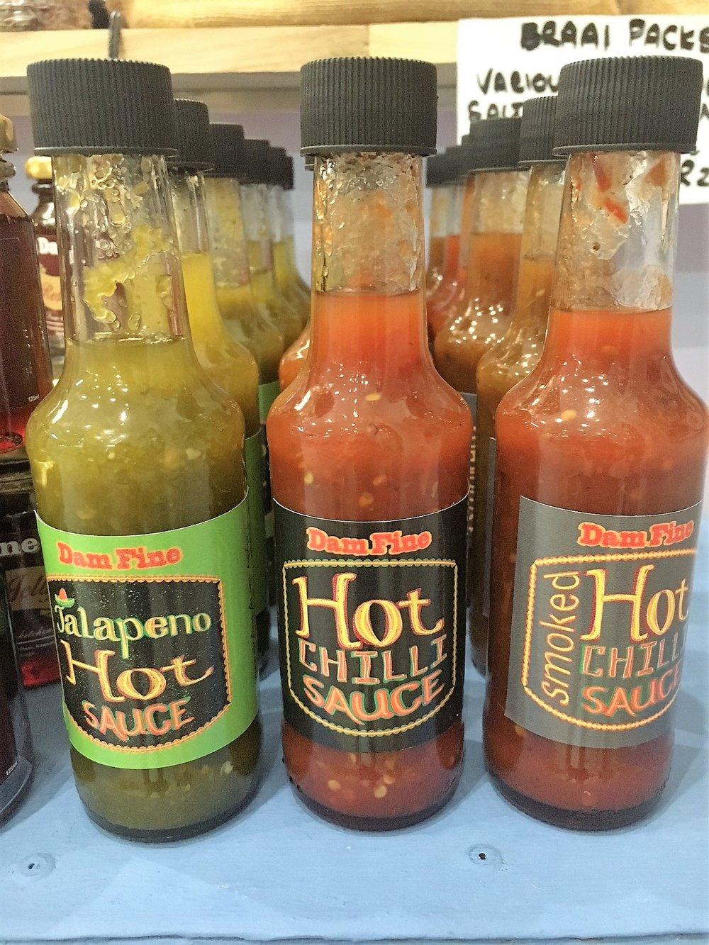 Dam Fine Chili Sauces