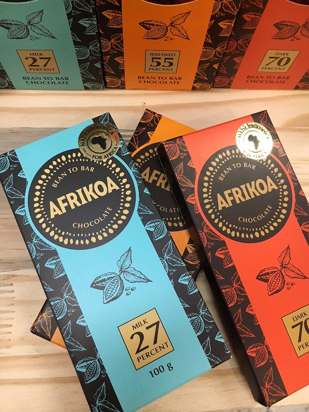 Afrikoa Chocolate Bars