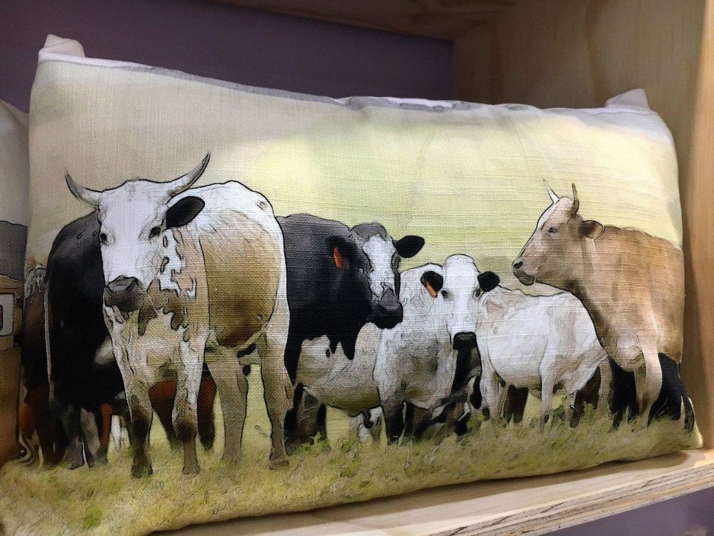 Nguni Cow Pillow