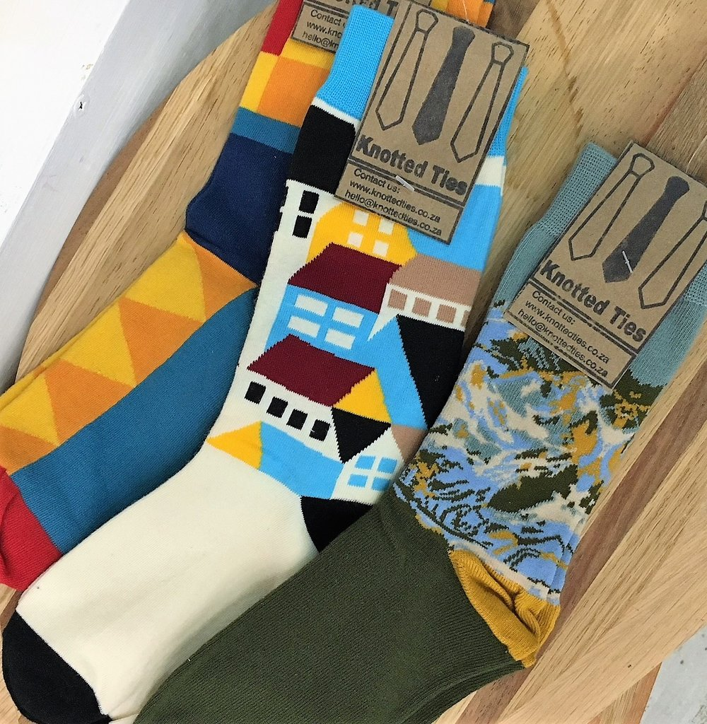 Knotted Socks Range