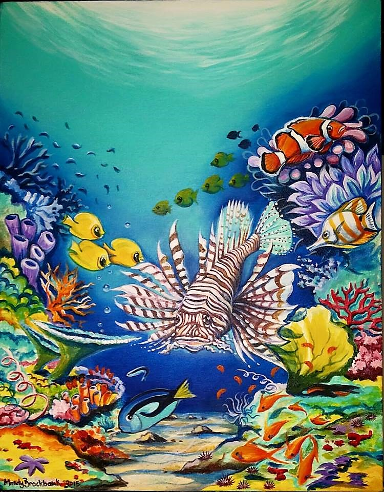 Under Sea Painting