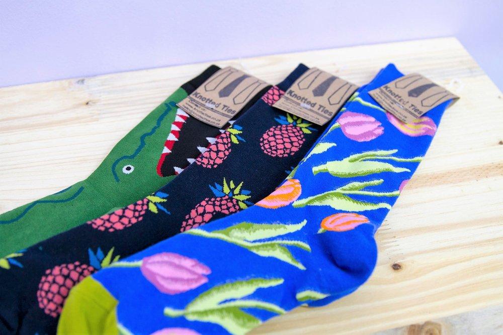 Knotted Ties Socks