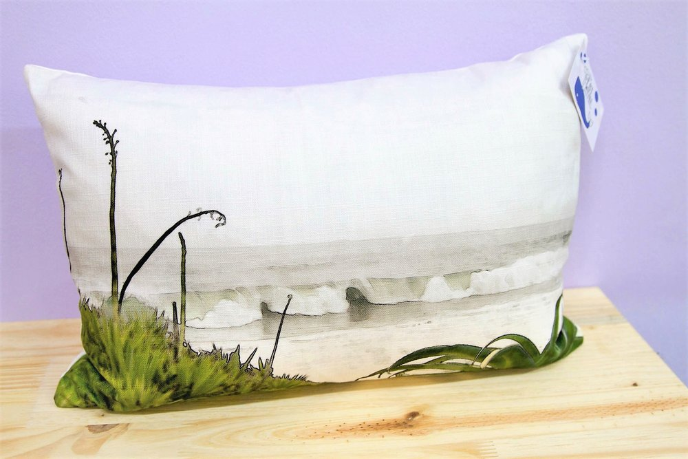 Ballito Beach Cushion Cover - R 330 - Rectangle - Inner Sold Separately.