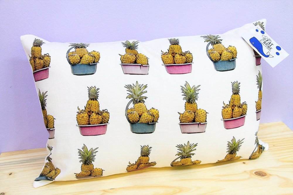 Pineapple Pattern Cushion Cover - R 330 - Rectangle - Inner Sold Separately.