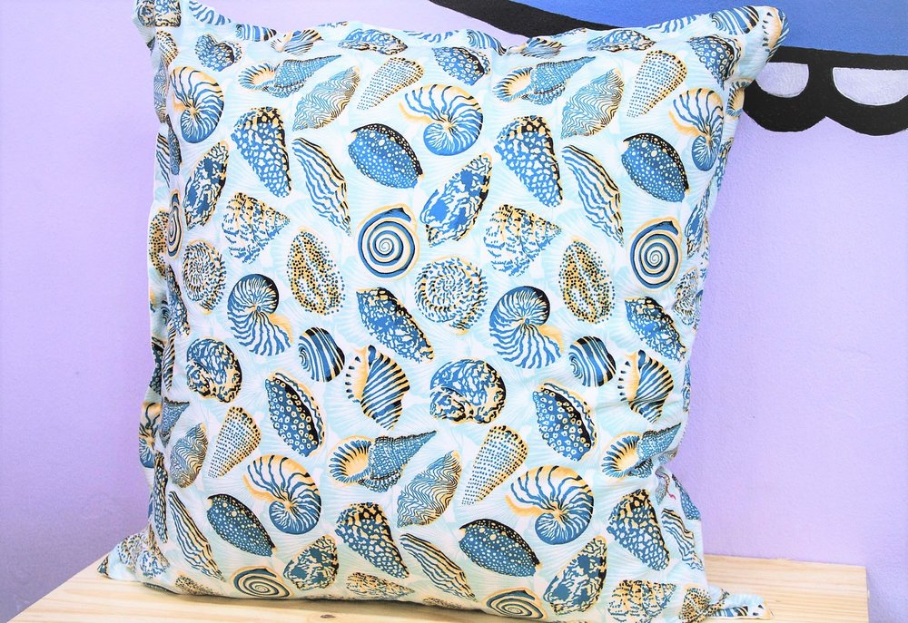 Shell Pattern Cushion - R 399 - Sold with the cover & inner.