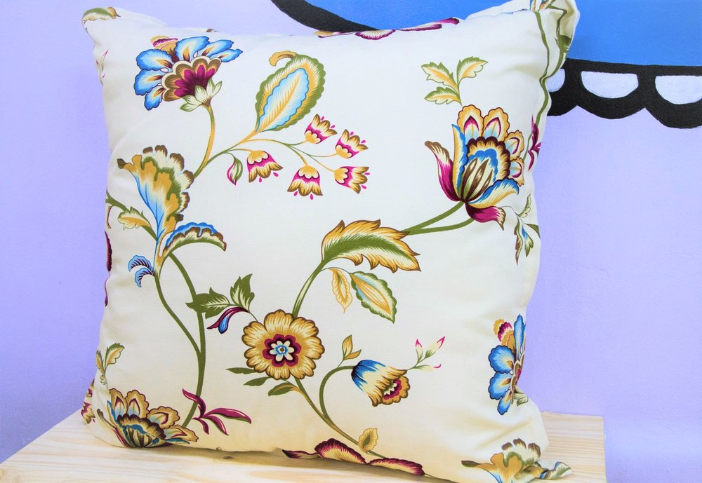 Spiced Bloom Cushion - R 399 - Sold with the cover & inner.