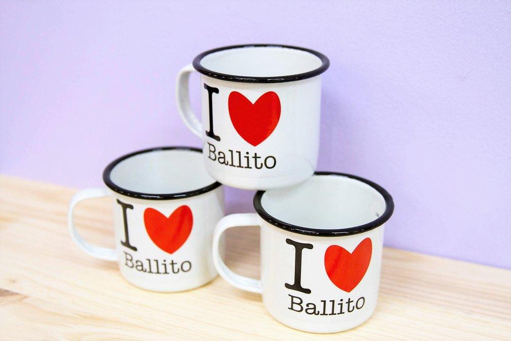 Heart Ballito Tin Mugs - R 95 each - A great Ballito branded souvenir.