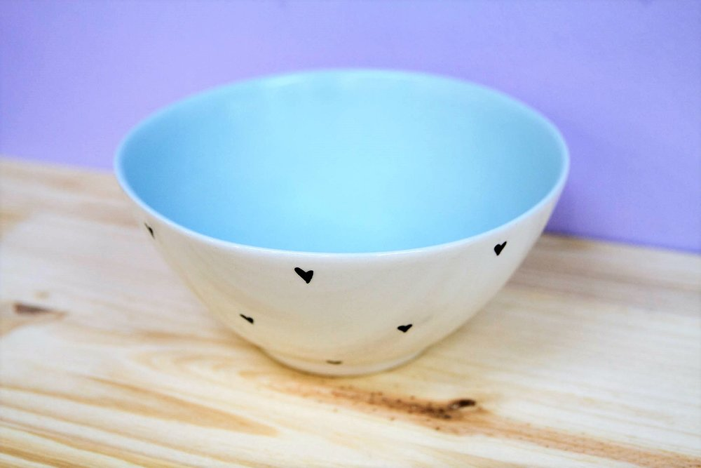 Medium Heart Bowl - R 255 - Design as pictured.