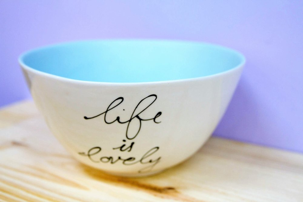 Large Salad Bowl - R 370 - Design as pictured.
