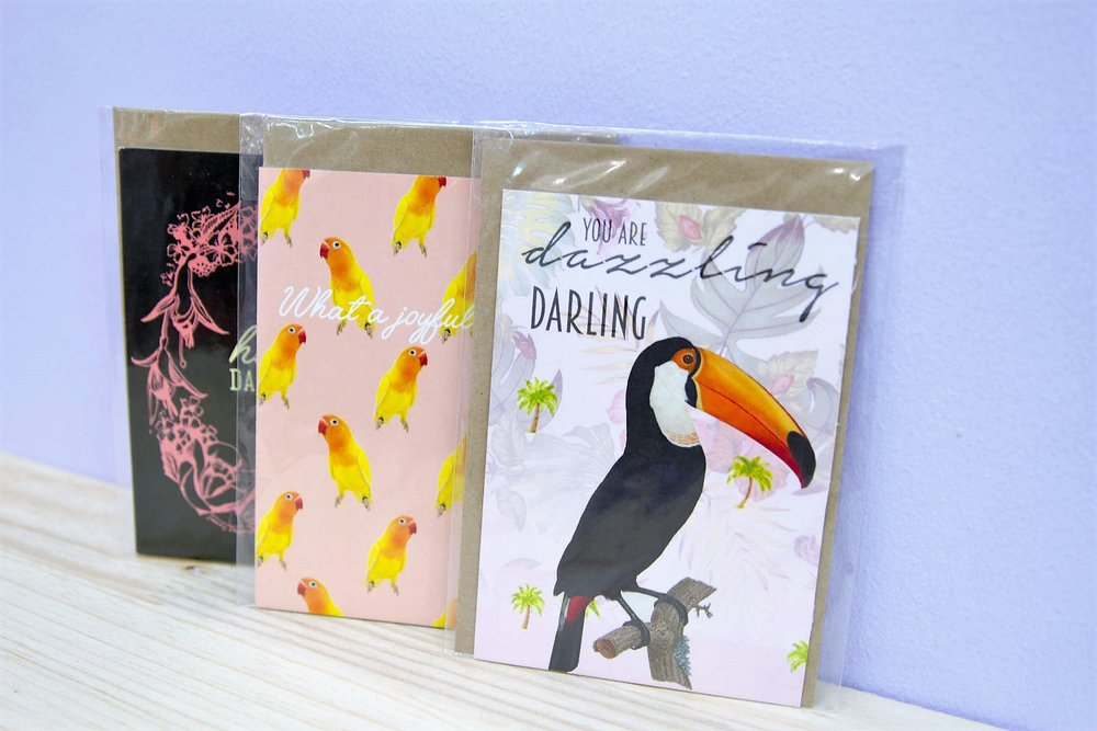 Assorted Gift Cards - R 35 each - Various quotes & designs - please inquire.