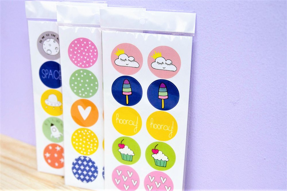 Gifting Sticker Set - R 30 per pack - Choice of 3 different designs.