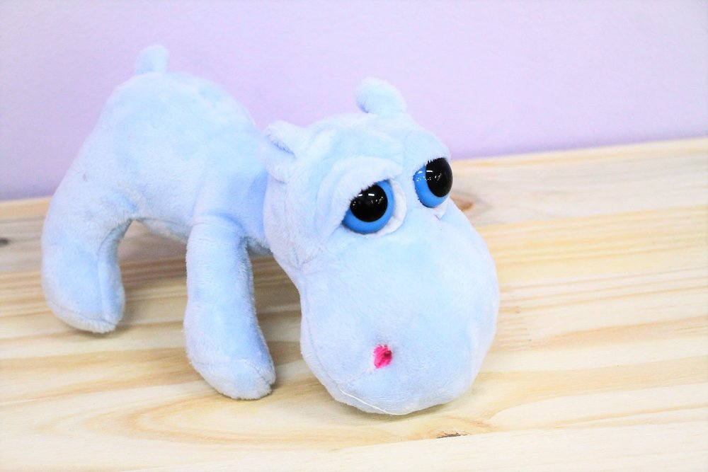 Hippo Plush Toy - R 65 - Part of our big-eyed cuddly collection.