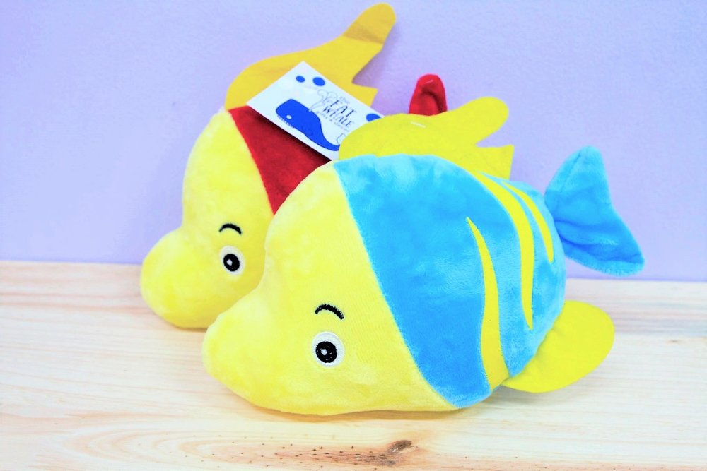 Nemo Fish Plush Toy - R 65 - Available in a red or blue option.