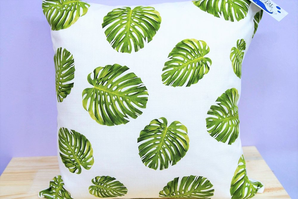 Botanical Cushion Cover - R 365 - Square - Inner Sold Separately.