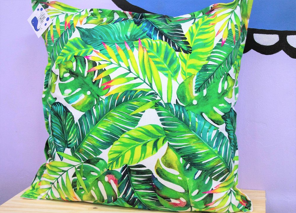 Botanical Leaves Cushion - R 399 - Sold with the cover & inner.