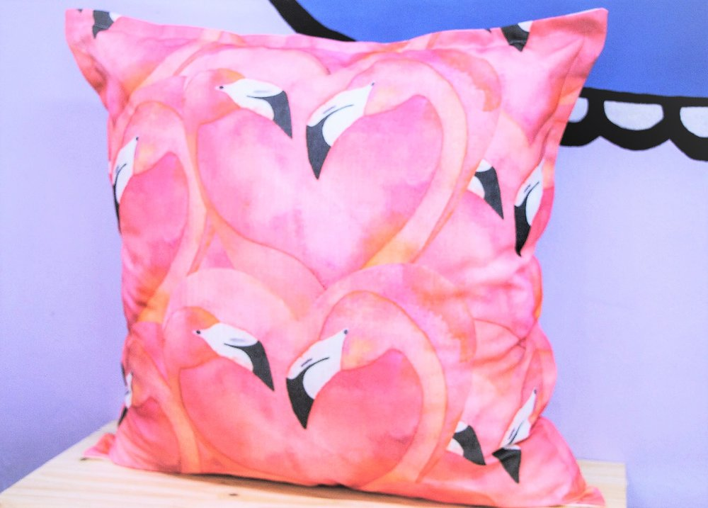 Giant Flamingo Cushion - R 399 - Sold with the cover & inner.