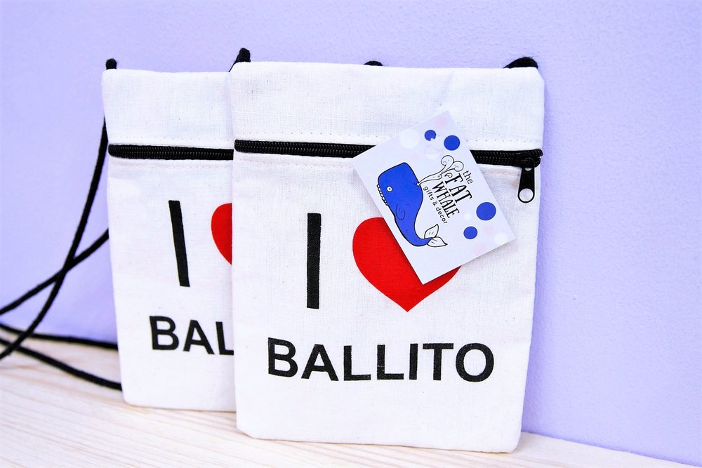 Heart Ballito Sling Bag - R 120 each - A great Ballito branded souvenir.