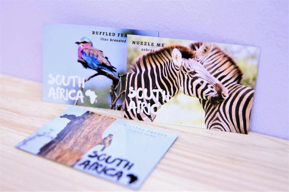 South Africa Magnets - R 35 each - Various designs available - please inquire.
