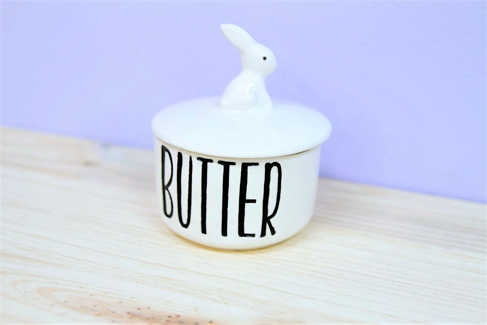 Bunny Butter Bowl - R 200 - Design as pictured.