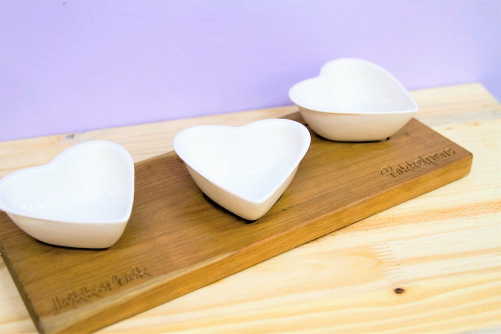 Heart Serving Board - R 320 - Design as pictured.
