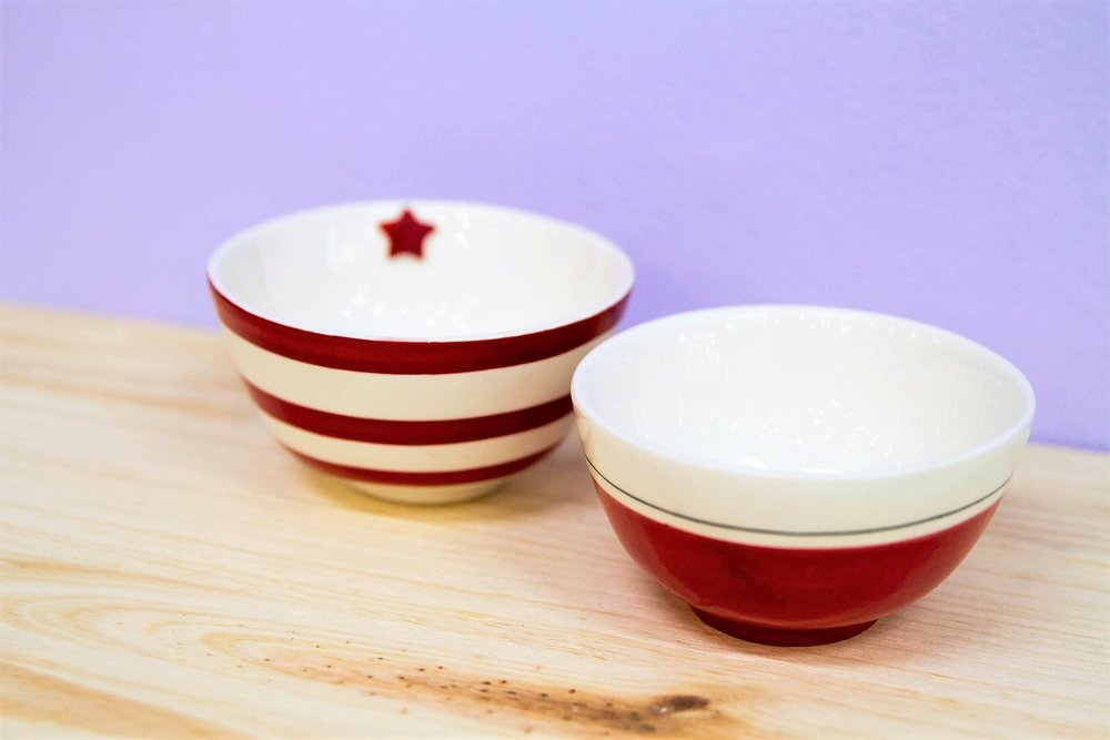 Various Bowls - R 120 each - Designs as pictured.