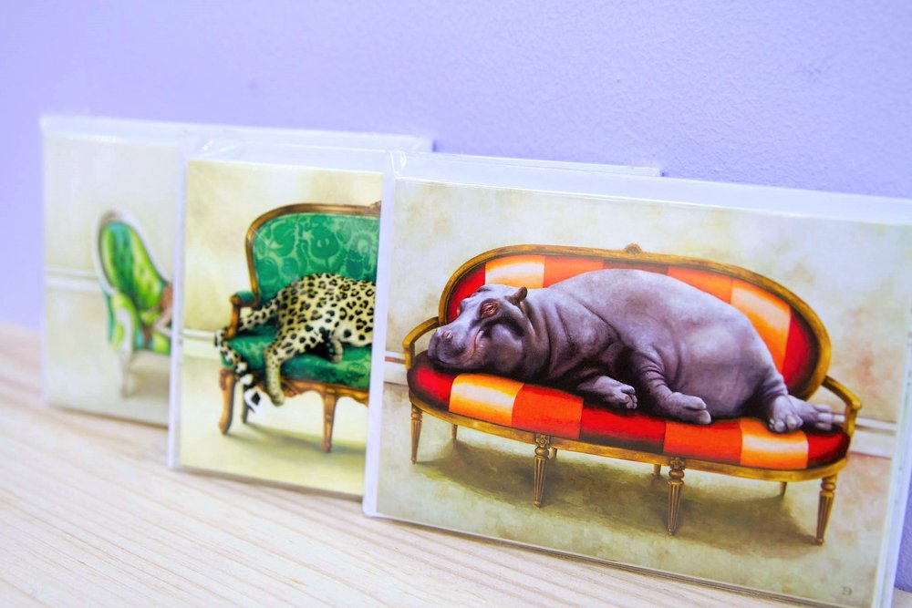 Wildlife at Leisure Card Sets - R 100 each - Currently Sold Out