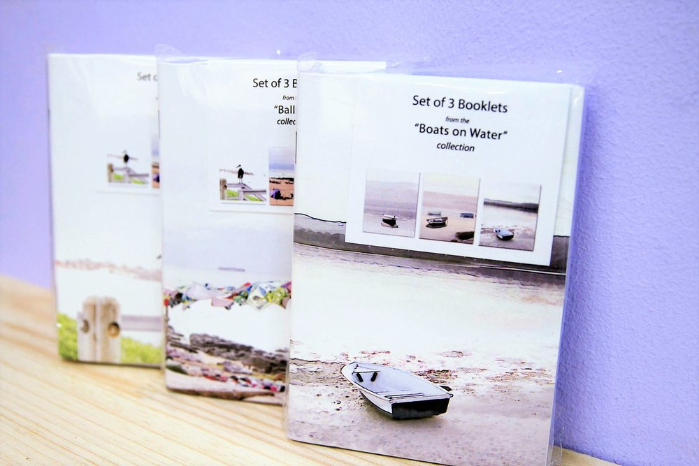 Set of 3 Booklets - R 95 each - Various quotes & designs - please inquire.