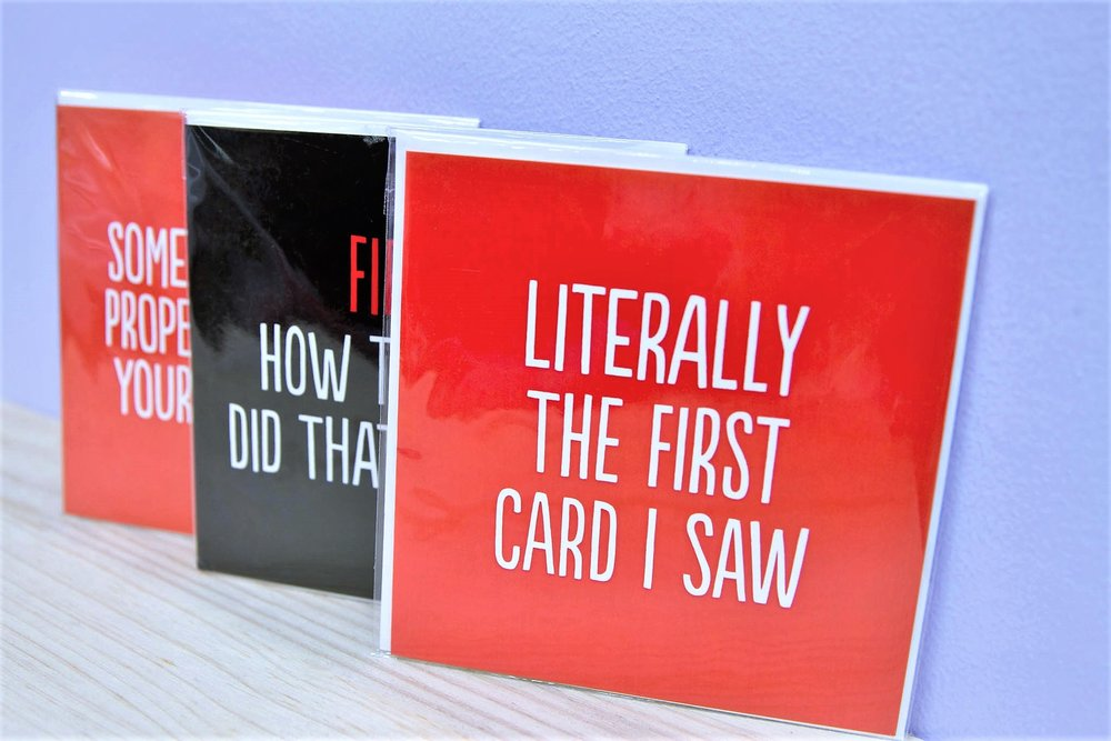 Assorted Gift Cards - R 50 each - Various quotes & designs - please inquire.