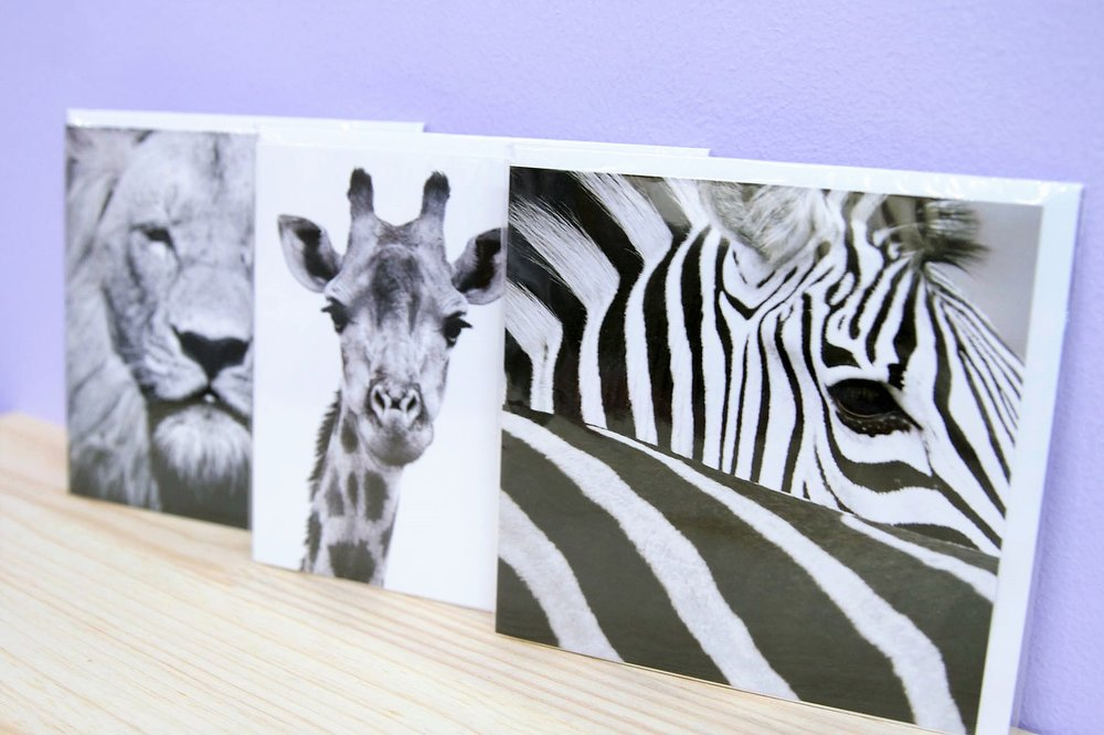 Assorted Gift Cards - R 30 each - Various quotes & designs - please inquire.