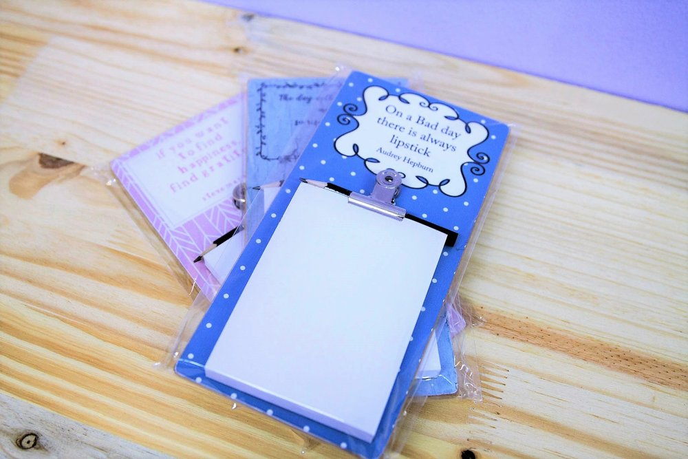 Large Magnetic Notepads - R 85 each - Great to add to your fridge for note taking and list making.