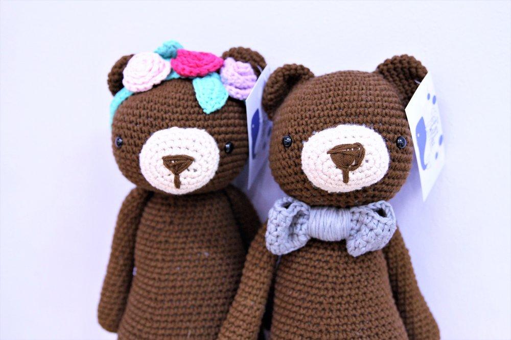 Luna & Felix the Bear