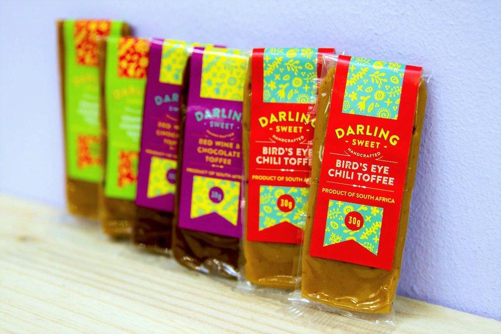 Darling Sweet Toffee Bars