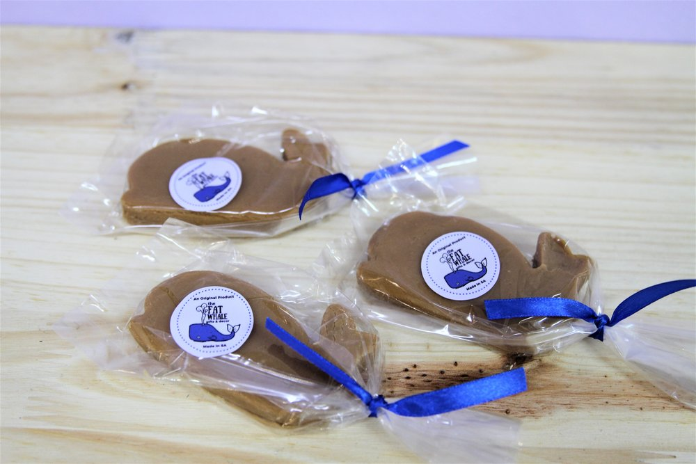 Fat Whale Shaped Fudge