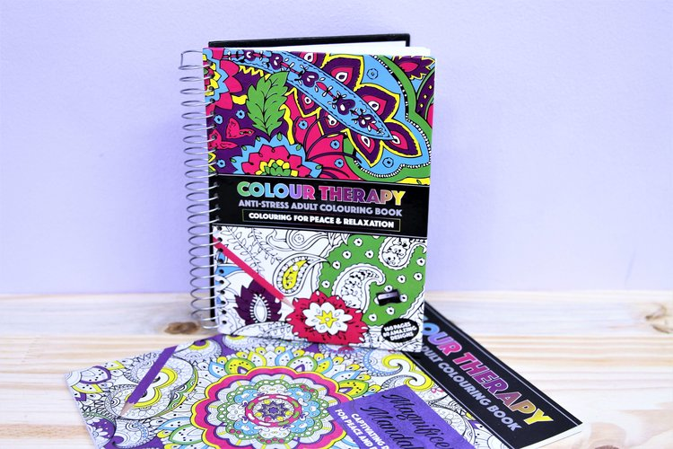 The Fat Whale Color Therapy Books From R 85