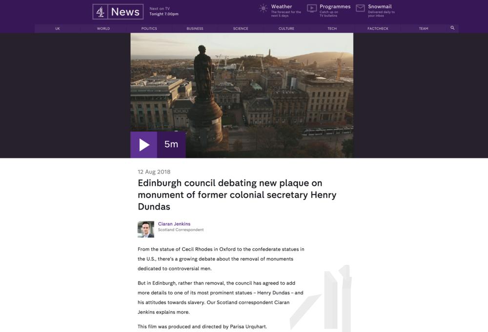 C4 News Dundas Piece_Screenshot 13August 2018 .png