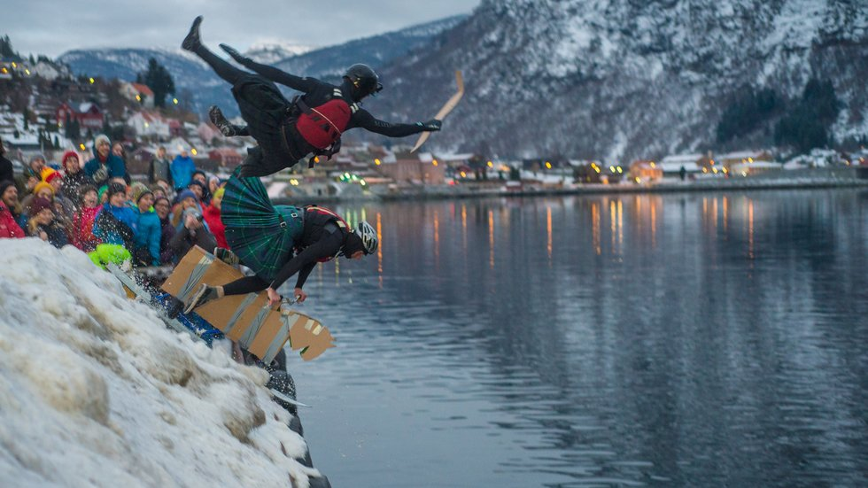 Fjellsportfestivalen opna med eit plask - Porten.no (21.02.2018)