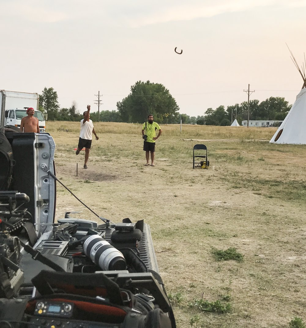 Camp Justice, Pine Ridge Reservation