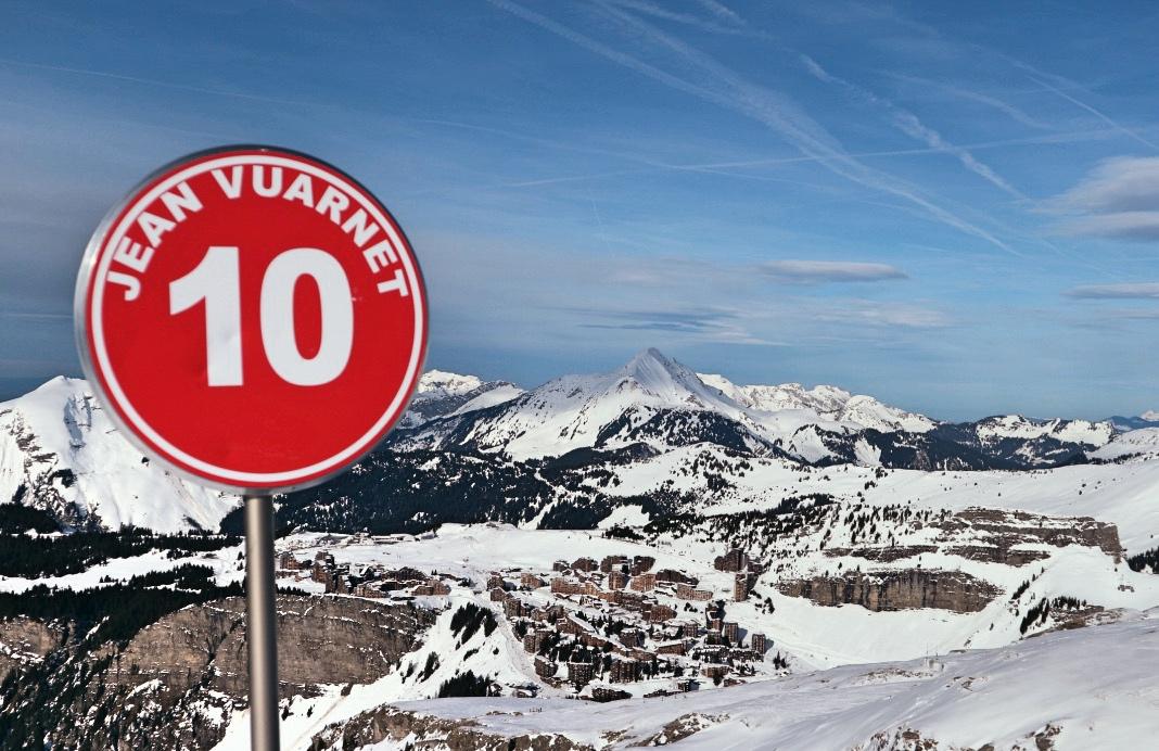 Vuarnet Ski Avoriaz Alpes PAradis