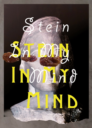 "Flyer ""Stein in my Mind"" Arthur Boskamp Stiftung, 2014"