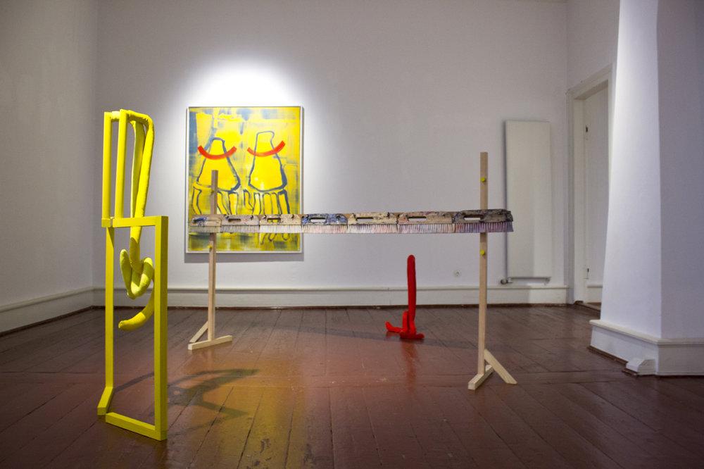 Ausstellungsansicht Palais für aktuelle Kunst, Glückstadt 2015