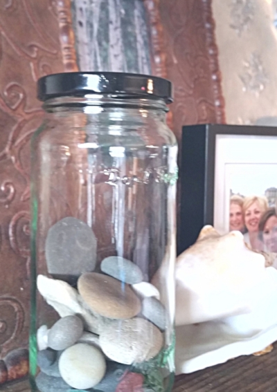 Rocks. Seaglass. Pieces of wood. Every one reminds me of joyful moments.