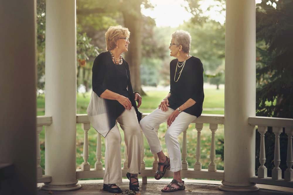 Lynn Felton and Sandy Maxwell, friends for over 40 years, were our honored guests at INSPIRED: GIRLFRIEND EDITION in August 2017. Their stories of struggles and joys brought tears and laughter to our crowd of over 50 women.