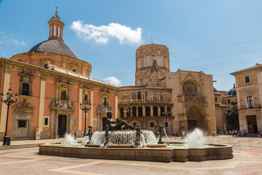 Valencia is all about the historical and cultural heritage