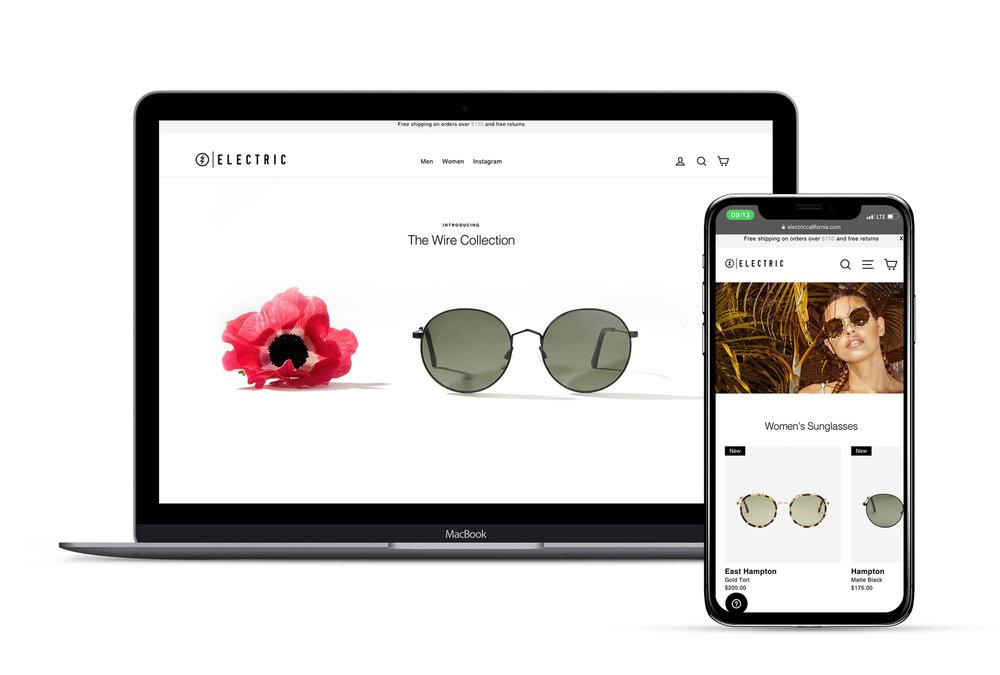 Website, UX & UI Design