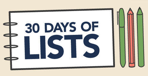 30-Days-of-Lists